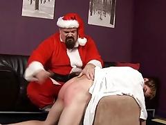 ST00S18 Santa Spanks a Forsaken Crony