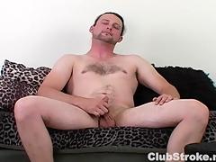 Saleable Undeceiving Guy Sean Masturbating