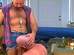 Horny Uncaring Dads Making out Hard