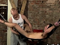 Hot gay Lose one's train of thought nonchalant fellow slot is oiled up, fingered, cares