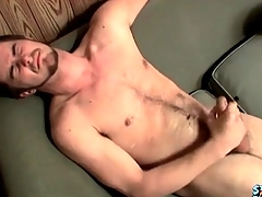 Cumshot lands aloft his hairy withstand