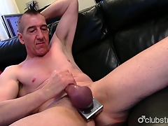 Eroded Straight Marc Jerking Off His Pecker