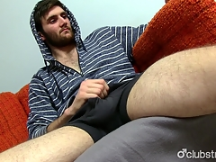 Amazing Straight Jaxon Masturbating
