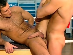 Fast guys shot at anal sex for a limber up
