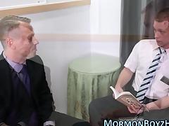Mormon gets dick sucked plus stroked plus jizzes hot drippy load