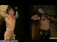 Muscle gay whips life guy fro dungeon