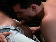 Studs are sucking dick in a sombre locality and dramatize in his sphincter