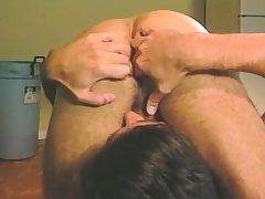 Lovable stud relishes a surprise anal schooling in dramatize expunge alcove room
