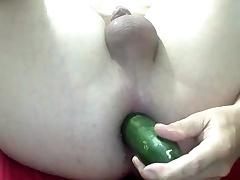 cucummber fuck opening